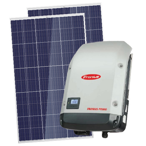 Aurinkovoimala Fronius 4,56 kW on grid 3-vaihe